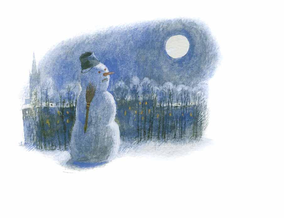 Устинов Николай Александрович. Снеговик.